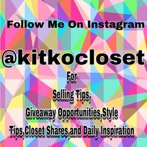 Follow me @kitkocloset